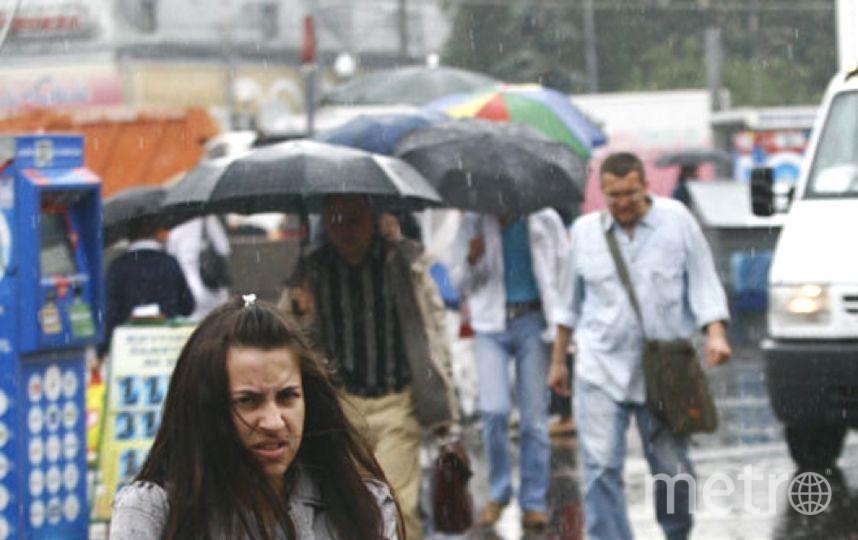 Погода в Петербурге испортилась. Фото Getty