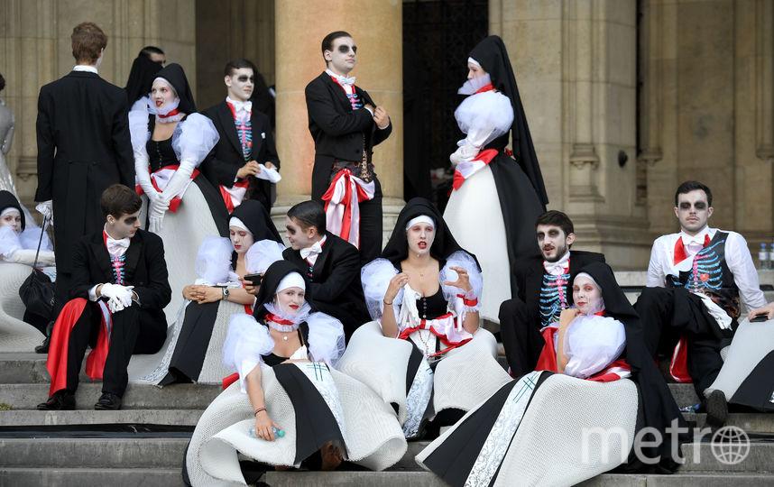 Гости «Бала жизни». Фото AFP