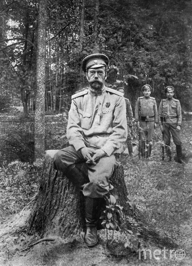 Николай II во время ссылки в Тобольске. Фото предоставлено Тобольским историко-архитектурным музеем-заповедником