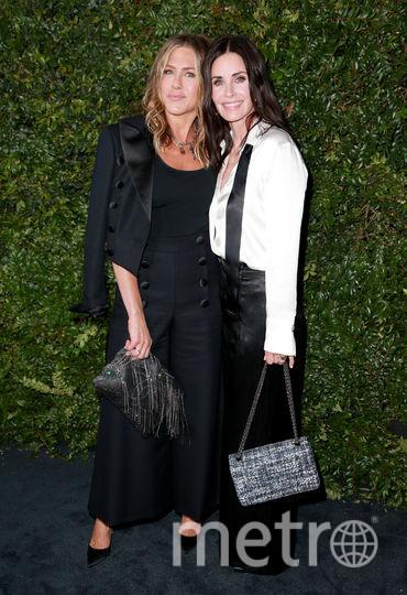 Дженнифер Энистон и Кортни Кокс подружки уже много лет. Фото Getty