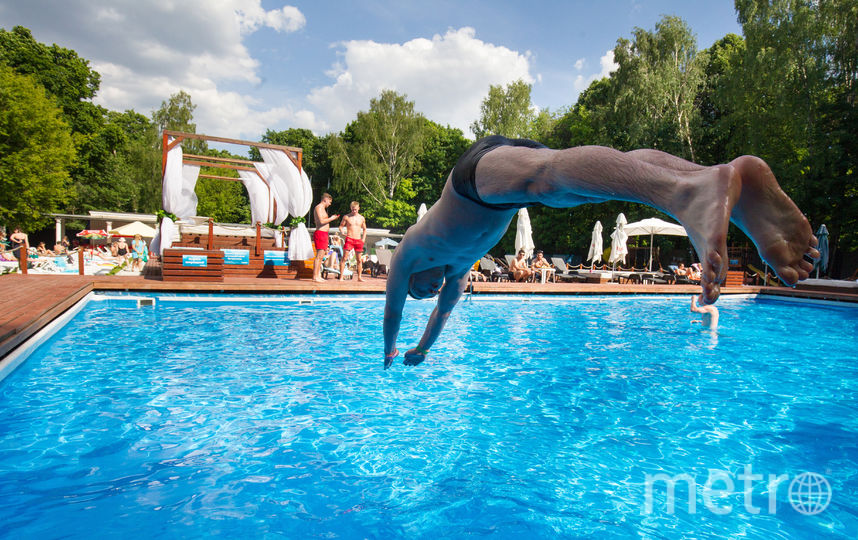 5 открытых бассейнов. Фото Василий Кузьмичёнок