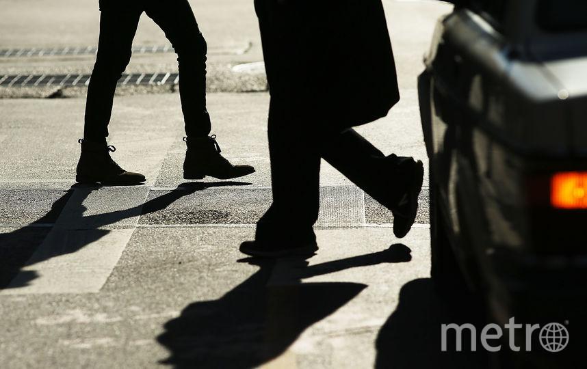 Пешеходный переход. Фото Getty