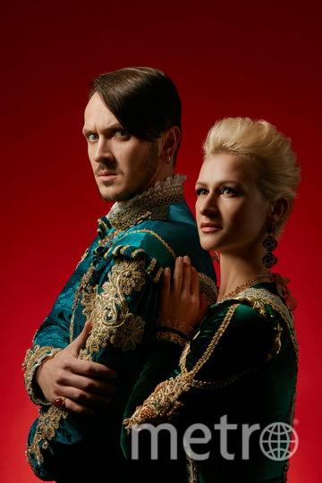 Татьяна Волосожар, Максим Траньков, князь и княгиня Вероны. Фото предоставлено организаторами