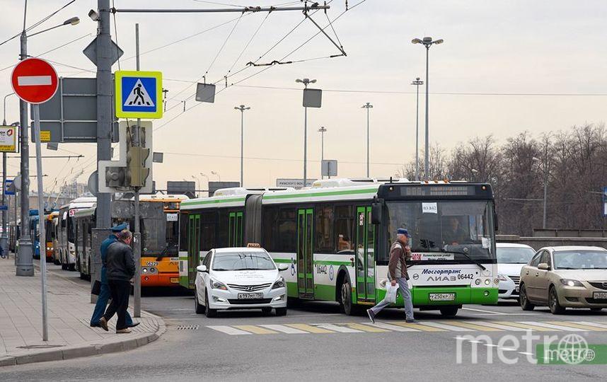 Пьяный безбилетник избил водителя автобуса в Москве. Фото Василий Кузьмичёнок