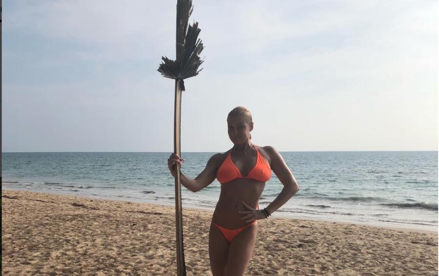 В апреле этого года Волочкова делилась фото с Пхукета. Фото instagram.com/volochkova_art