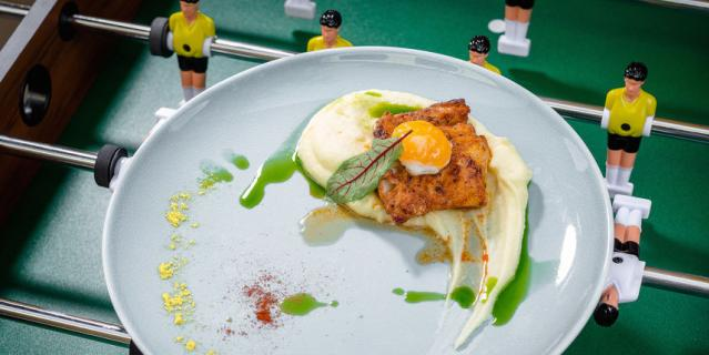 Треска с картофелем и яйцом для Криштиану Роналду.