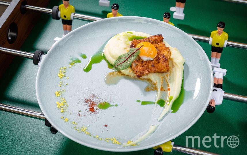 Треска с картофелем и яйцом для Криштиану Роналду. Фото предоставлено пресс-службой паба
