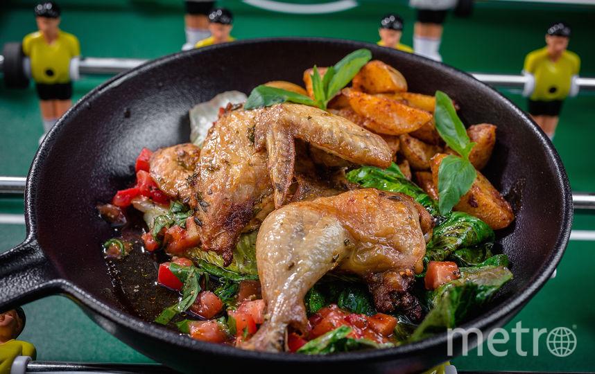 Цыплёнок по-неаполитански для Лионеля Месси. Фото предоставлено пресс-службой паба