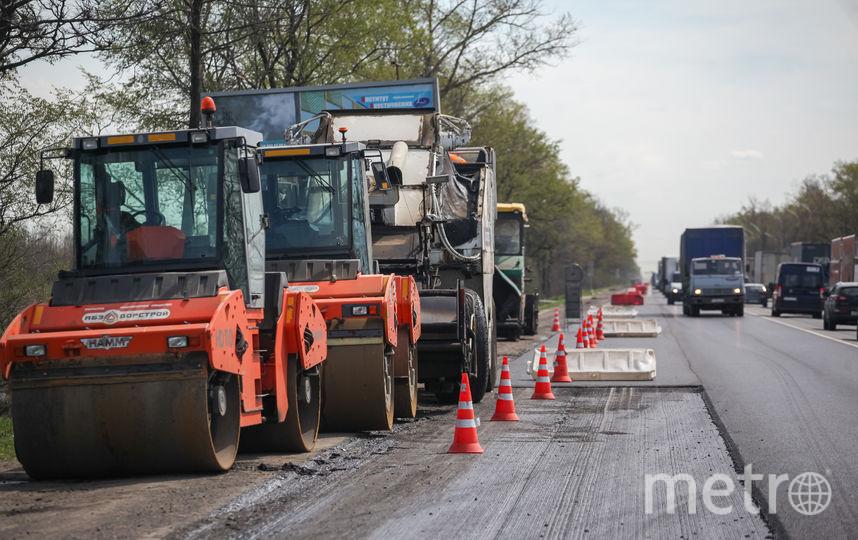 Горожане привыкли к ремонту дорог. Фото Роман Пименов, Интерпресс