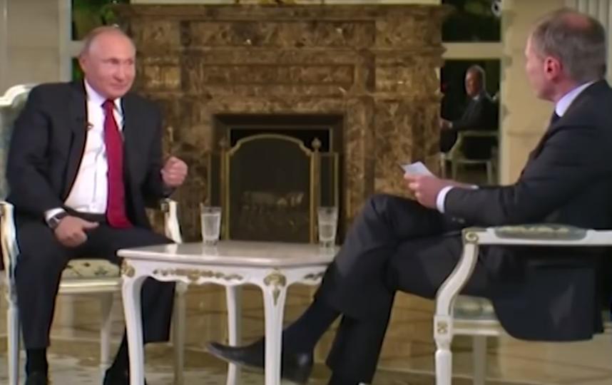 Путин дал интервью австрийскому телеканалу? Фото Скриншот Youtube