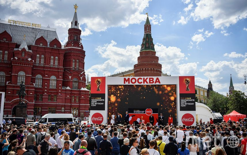 Москва примет финал чемпионата мира по футболу-2018. Фото AFP