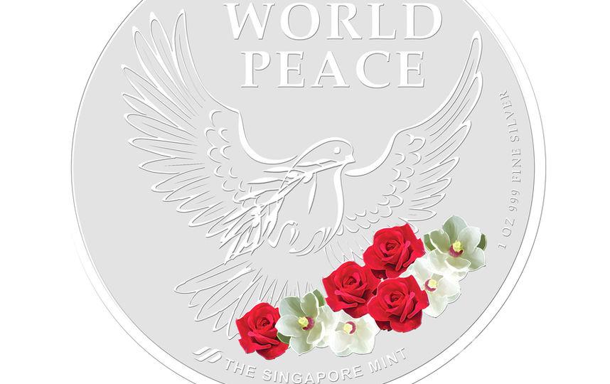 Серебряная монета. Фото AFP