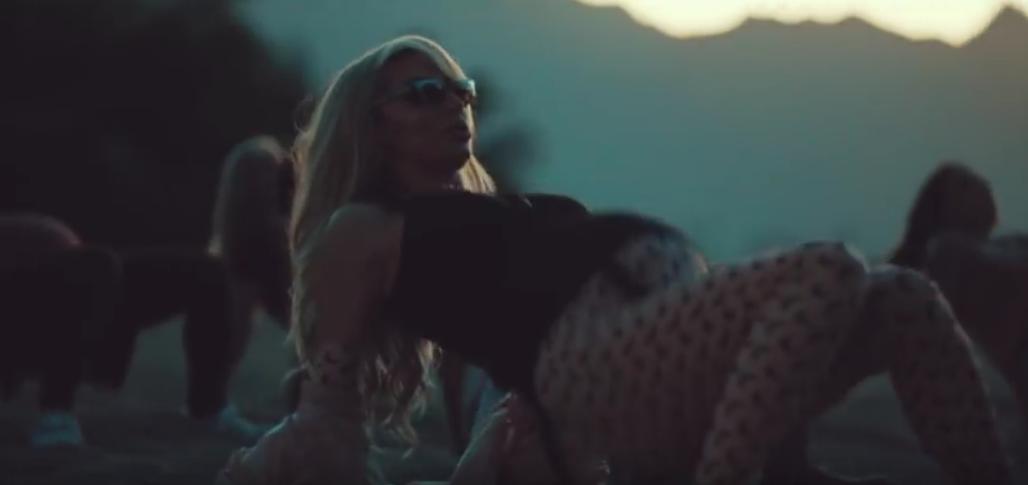 Светлана Лобода в тизере на песню SuperSTAR. Фото Скриншот Youtube