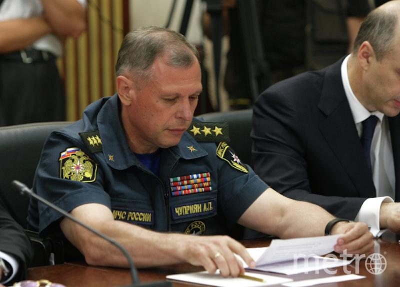 Заместитель главы МЧС РФ Александр Чуприян. Фото РИА Новости