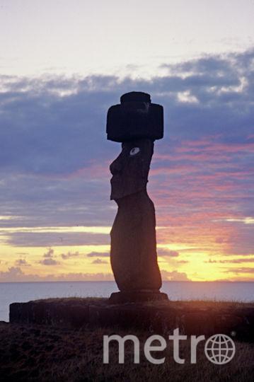 Статуи моаи, остров Пасхи. Фото РИА Новости