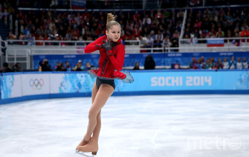 Юлия Липницкая на Олимпиаде в Сочи-2014. Фото Getty