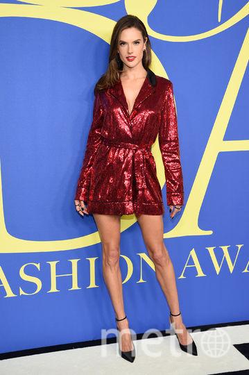 CFDA Fashion Awards-2018. Алессандра Амбросио. Фото Getty