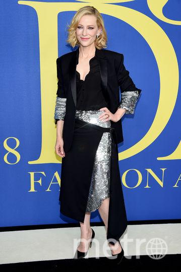 CFDA Fashion Awards-2018. Кейт Бланшетт. Фото Getty