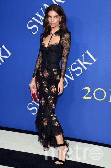 CFDA Fashion Awards-2018. Эмили Ратаковски. Фото Getty