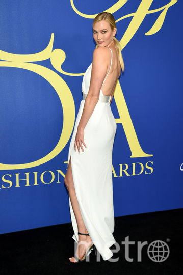 CFDA Fashion Awards-2018. Карли Клосс. Фото Getty