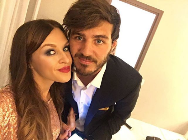 Александр Ерохин с женой. Фото Скриншот Instagram: erokhin___alexander