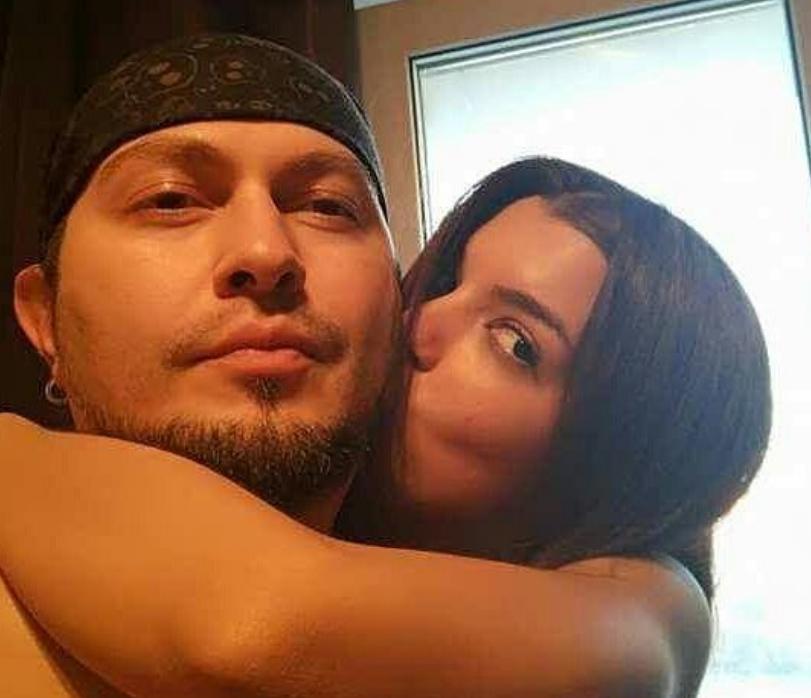 Мария Политова с возлюбленным Артемом Шануровым, фотоархив.