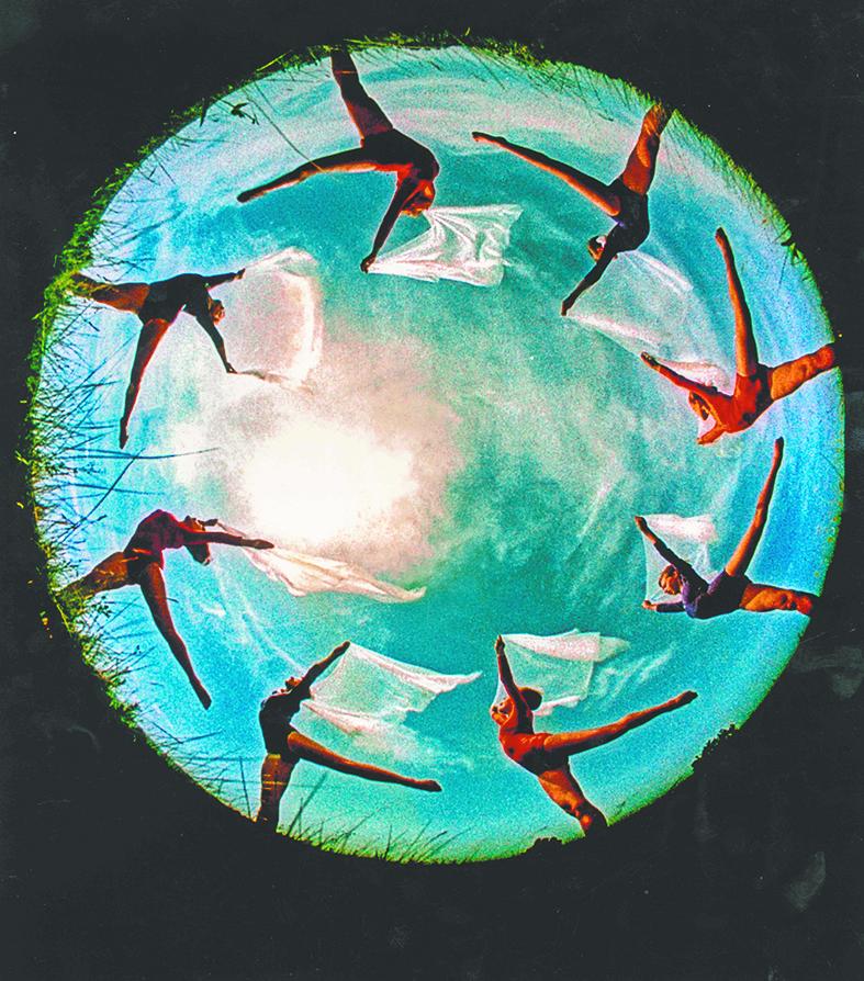 Гимнастический круг, 1964 год. Фото предоставлено ИРРИ