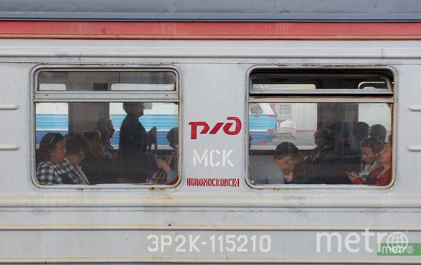 Поезда следуют с увеличенным интервалом по Казанскому направлению МЖД из-за ДТП с грузовиком. Фото Василий Кузьмичёнок