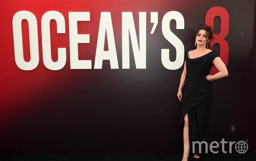 """Премьера """"Восемь подруг Оушена"""" (Ocean's 8) в Нью-Йорке. Хелена Бонем-Картер. Фото Getty"""