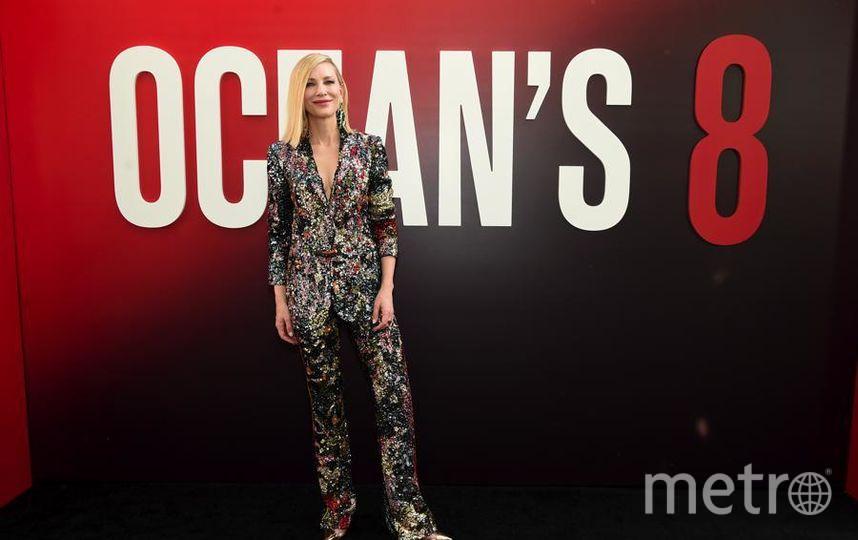 """Премьера """"Восемь подруг Оушена"""" (Ocean's 8) в Нью-Йорке. Кейт Бланшетт. Фото Getty"""