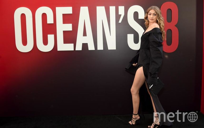 """Премьера """"Восемь подруг Оушена"""" (Ocean's 8) в Нью-Йорке. Джиджи Хадид. Фото Getty"""