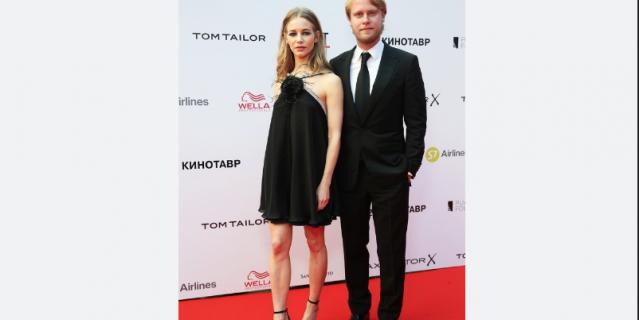 Светлана Устинова и Илья Стюарт.