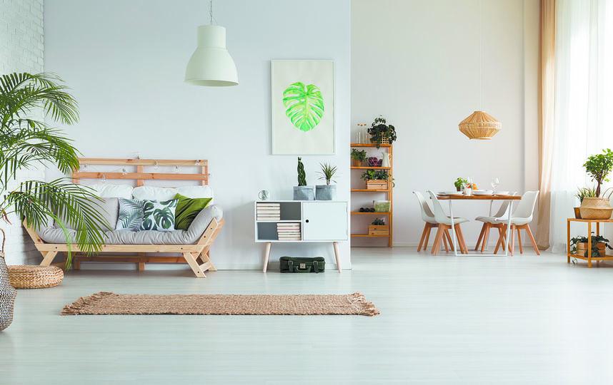 """В квартире, где много места и мало вещей, дышится легче и живётся действительно радостнее. Фото """"Metro"""""""
