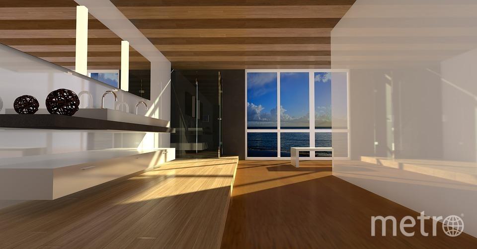 В квартире, где много места и мало вещей, дышится легче и живётся действительно радостнее. Фото https://pixabay.com