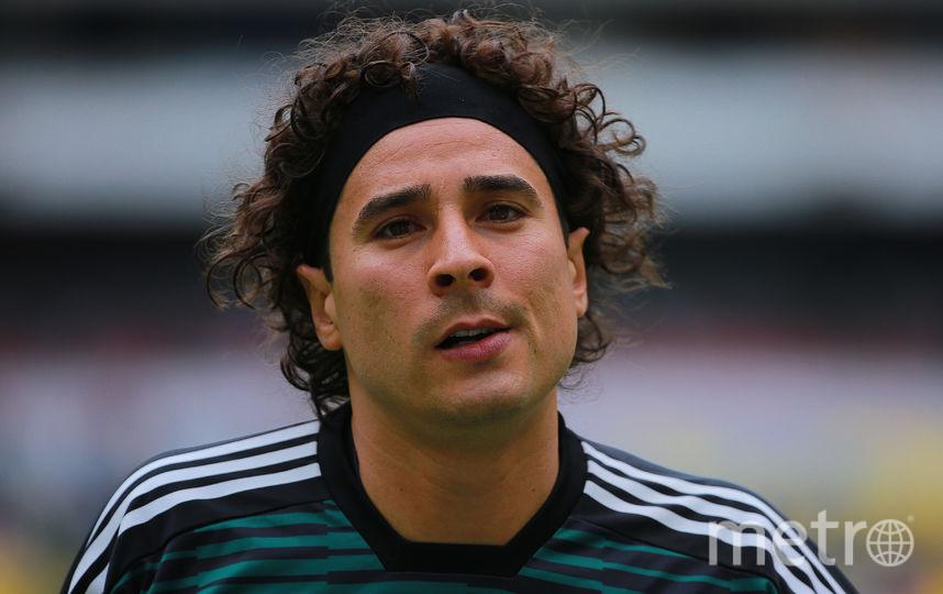 Вратарь сборной Мексики по футболу Гильермо Очоа. Фото Getty
