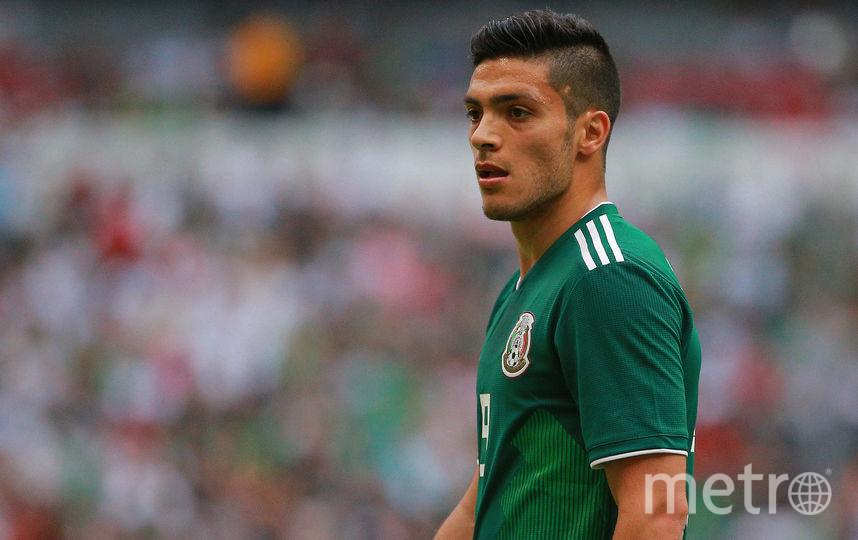 Нападающий сборной Мексики по футболу Рауль Хименес. Фото Getty