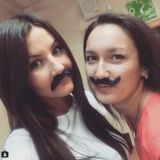 Участницы флэшмоба #усынадежды. Фото instagram/vichulich