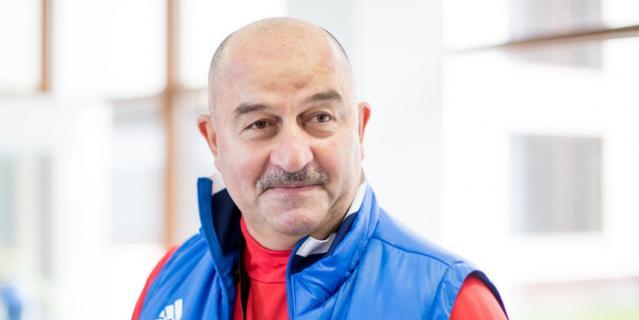 Главный тренер сборной России по футболу Станисла Черчесов.