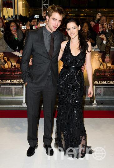 Роберт Паттинсон и Кристен Стюарт. Фото Getty