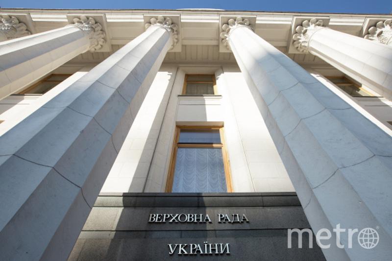 Здание Верховной рады Украины в Киеве. Фото РИА Новости