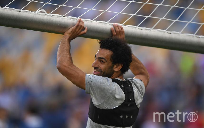 "Нападающий ""Ливерпуля"" и национальной команды Египта Мохамед Салах. Фото Getty"