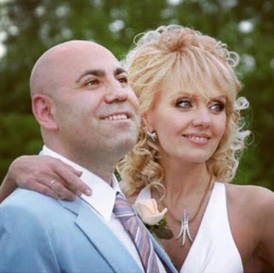 Певица Валерия и Иосиф Пригожин на своей свадьбе 14 лет назад. Фото www.instagram.com/prigozhin_iosif