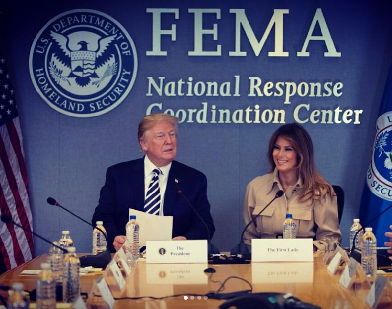 Новые фото Мелании Трамп после операции. Фото Скриншот Instagram: @flotus