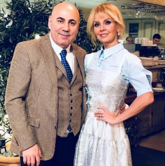Певица Валерия и Иосиф Пригожин. Фото www.instagram.com/prigozhin_iosif