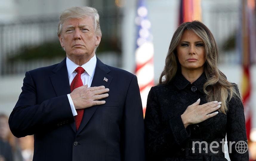 Мелания Трамп и Дональд Трамп. Фото Getty