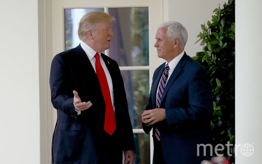 Дональд Трамп и Майк Пенс. Фото Getty