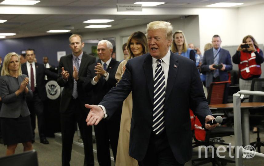 Дональд Трамп, Мелания Трамп и Майк Пенс. Фото Getty