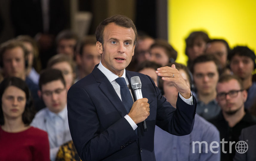 Президент Франции Эммануэль Макрон. Фото Getty
