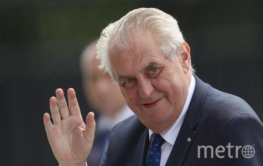 Президент Чехии Милош Земан. Фото Getty