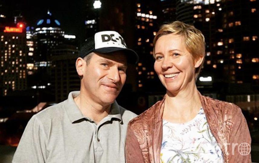 Татьяна Лазарева с мужем Михаилом Шацом. Фото www.instagram.com/lazareva_tatka